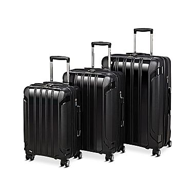 Seville Classics 3-Piece Luggage Set   Cyber Everyday